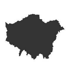 Map of london vector