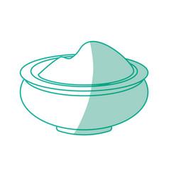 Massage cream spa vector