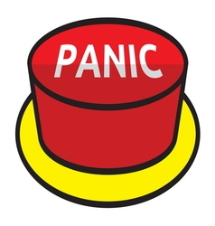 Panic button vector