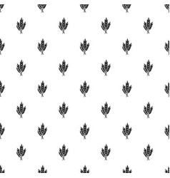 Wheat pattern seamless vector