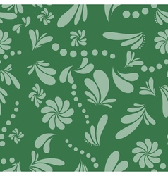 abstract background dark green and gray vector image