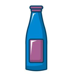 bottle cream icon cartoon style vector image vector image