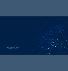 Abstract digital technology background with vector