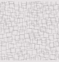 contour squares grid semless pattern vector image
