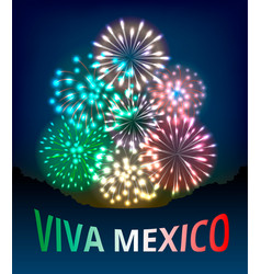 Independence day of mexico vector