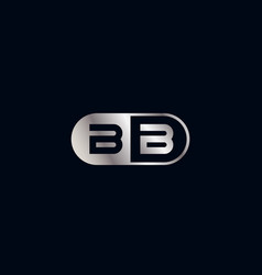Initial letter bb logo template design vector