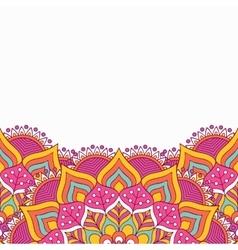 Mandala background vector