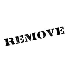 remove rubber stamp vector image