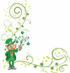 St patrick day graphic vector