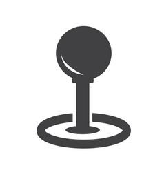 video games control icon vector image