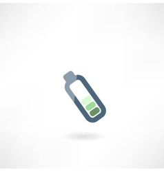 with battery charge icon vector image