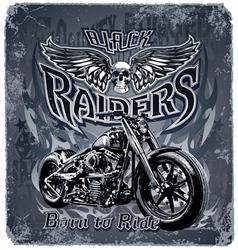 Black Raiders vector image vector image