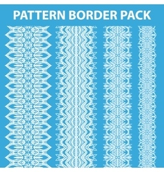 Pattern Border Pack vector image vector image