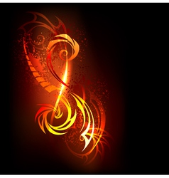 Abstract Pattern of Fire vector image