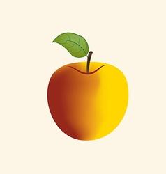 Apple Fruit Icon vector