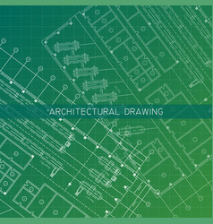 architectural drawingarchitectural plan in vector image