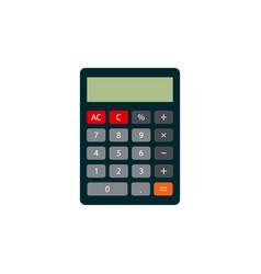calculator icon flat style vector image
