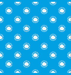 health food pattern seamless blue vector image