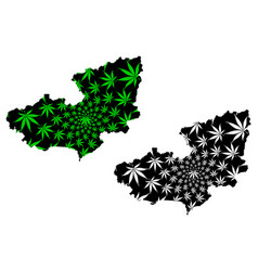 lam dong province socialist republic vietnam vector image