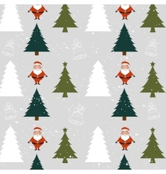 Merry christmas icons and elements vector image