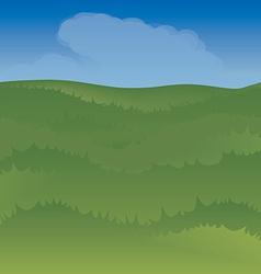 skygrass vector image