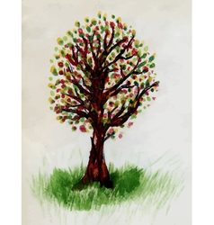 Tree Doodle2 vector image