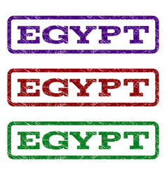 egypt watermark stamp vector image