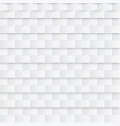 abstract paper seamless pattern white geometric vector image vector image