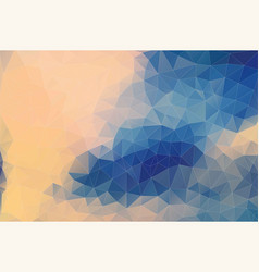 Flat pastel color geometric triangle wallpaper vector
