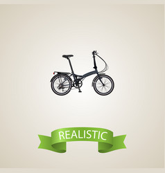 realistic fitness wheel element vector image vector image