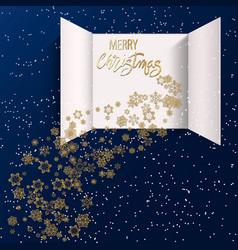 advent calendar doors opening vector image