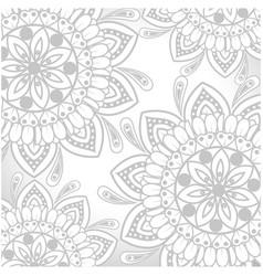 Mandalas background design vector