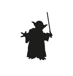 master yoda vector image