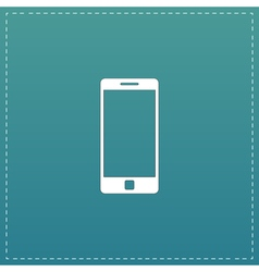 mobile gadget flat icon vector image
