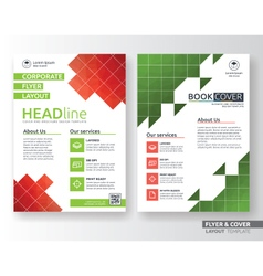 Multipurpose corporate business flyer layout vector image