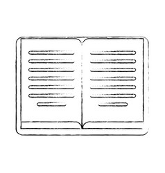 Sketch book learning development vector