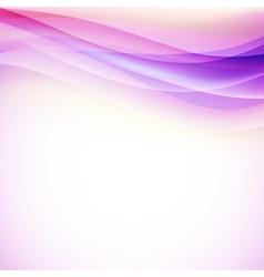 aqua wave background vector image vector image