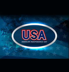 Usa flag color background vector