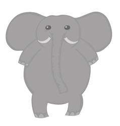 Alephant cute vector