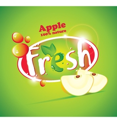 Apple Fresh vector