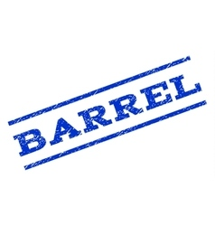 Barrel Watermark Stamp vector image