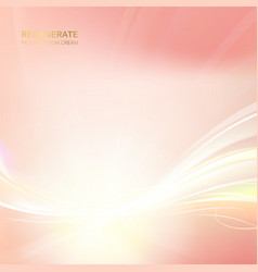 flash of flamingo color light sparkle vector image