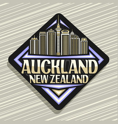 logo for auckland vector image
