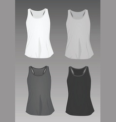 Women top tank vector