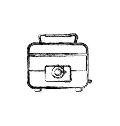 toaster household appliances vector image vector image
