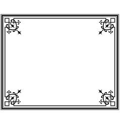 frame magasin 1 vector image