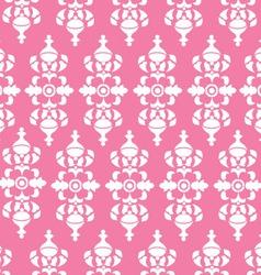 Vintage Pink Wallpaper vector image vector image