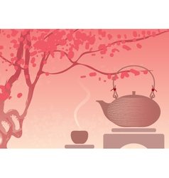 Tea Ceremony vector image vector image