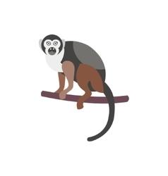 Cute monkey icon logo symbol vector