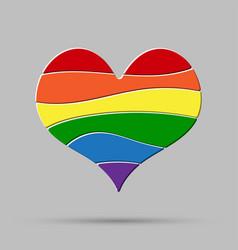 lgbt love peace pride gay pride sign vector image